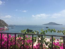 Panama, Taboga Island, Vereda Tropical Hotel