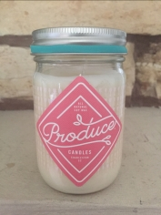 Produce Candles Rhubarb Spring Candle