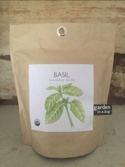Potting Shed Creations Garden-in-a-Bag Basil