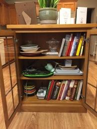 Cookbook bookcase